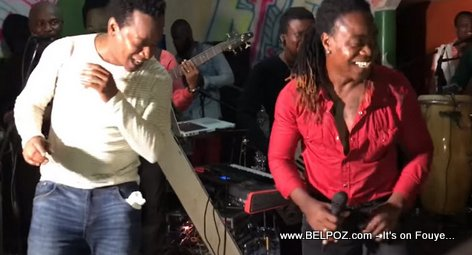Gracia Delva Imitated by a young singer in Bassin Bleu Haiti