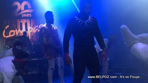 Look... Mac D (Harmonik) is Black Panther - Compas Festival 2018