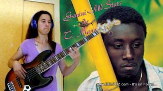 VIDEO: L'Argent - Ti Manno (Gemini All Stars) Gade kijan yon fanm ap frape bass li nan music sa